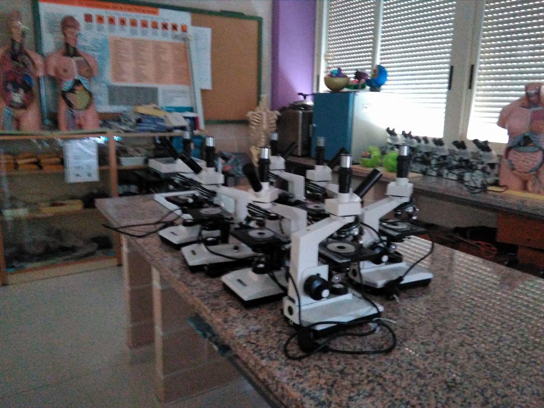 Laboratorio de Biología y Geología