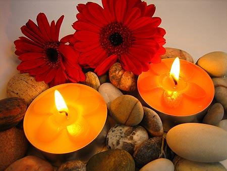 Decoraci n con velas demain deco - Decoracion con velas ...