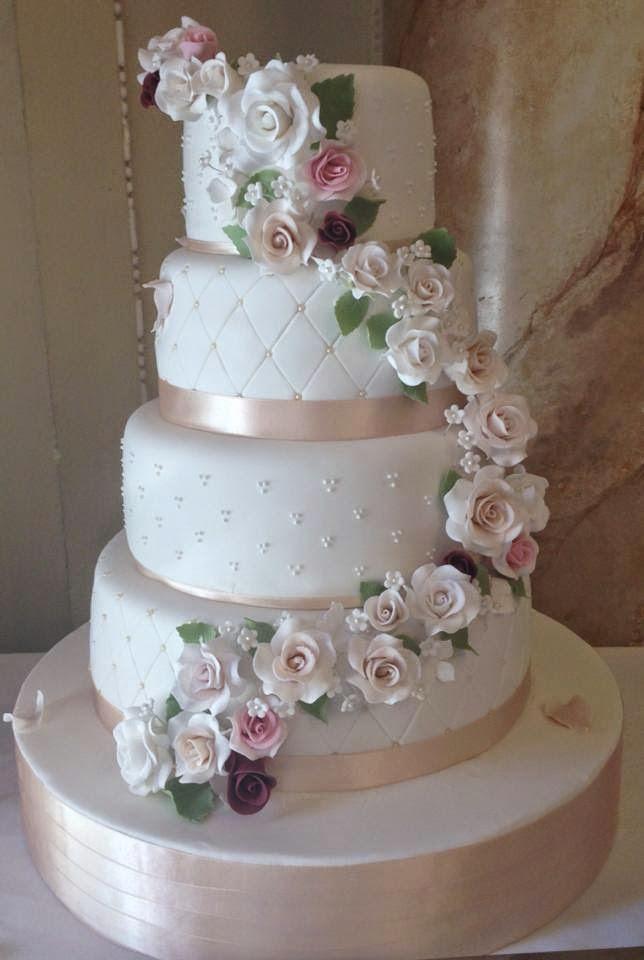 tarta de boda con rosas loleta linares blog mi boda gratis