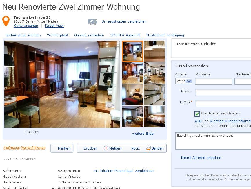 Kristianschultzz for Zwei zimmer wohnung berlin