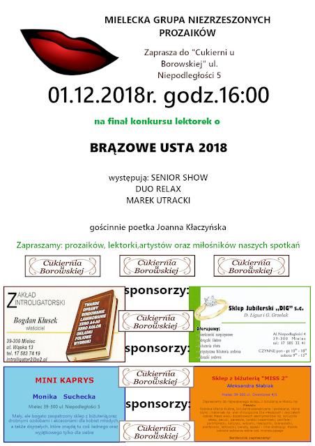 plakat 17 spotkanie literackie