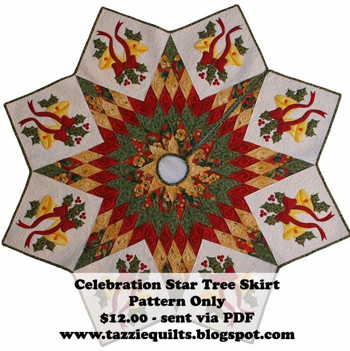 Celebration Star Tree Skirt Banner
