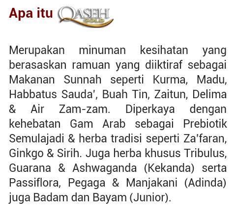 Apa itu Qaseh..