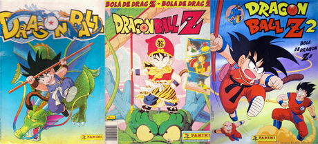 Álbumes de Panini - Dragon Ball