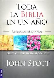 TODA LA BIBLIA EN UN AÑO (DEVOCIONAL) – JOHN STOTT