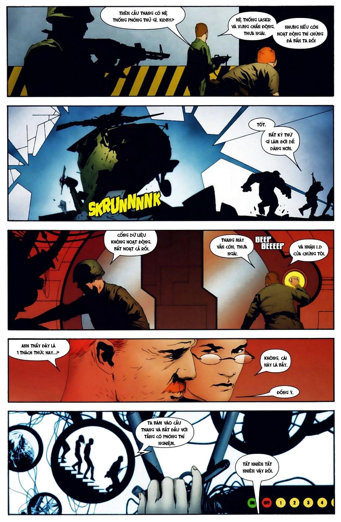 Ultimate Fantastic Four chap 19 - Trang 14