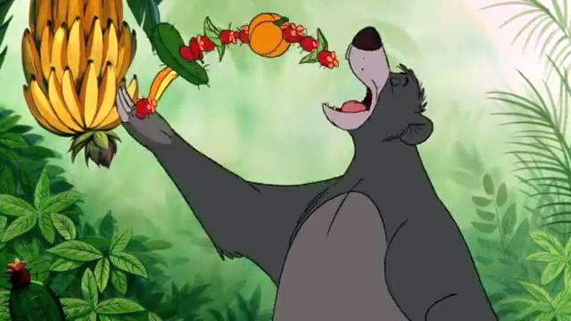 Watch: The Bear Necessities The Jungle Book