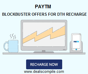 DTH Recharge Rs. 250 Cashback on Rs. 300 - Paytm