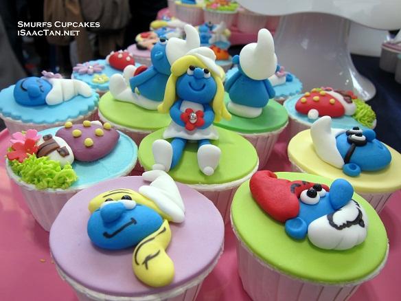 Smurfs Cupcake