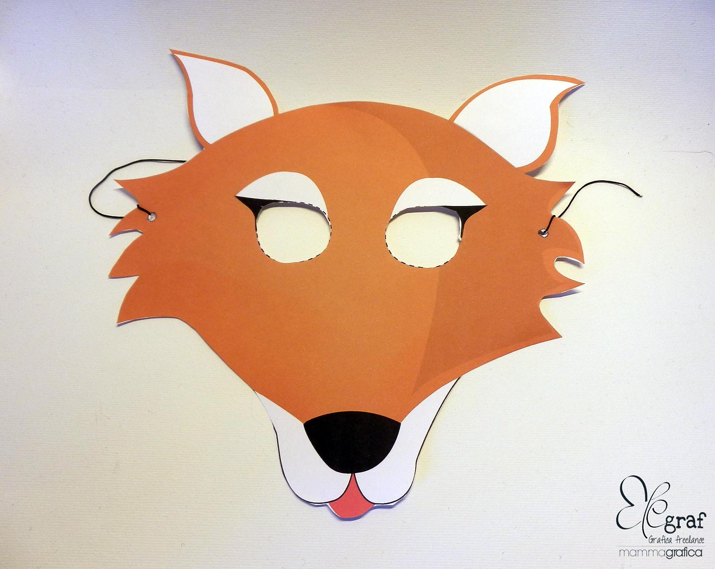 Elegraf grafica freelance la maschera da volpe e i carri
