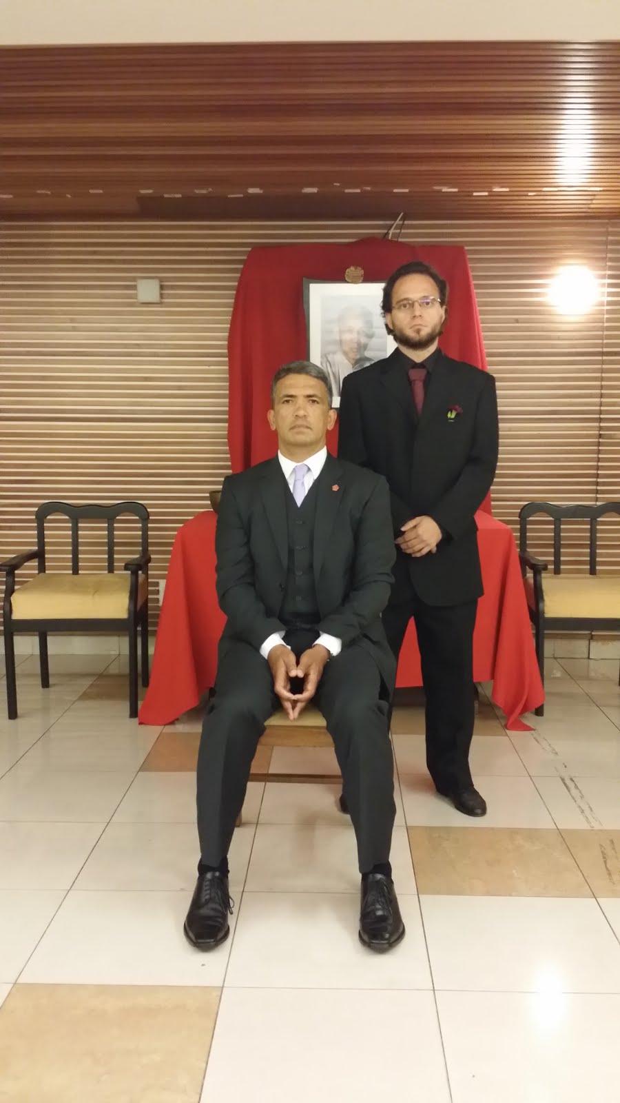 Rodrigo Moreira Discípulo 22 do Mestre Senior Julio Camacho