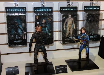 NECA 2013 Toy Fair Display Pictures - Prometheus figures