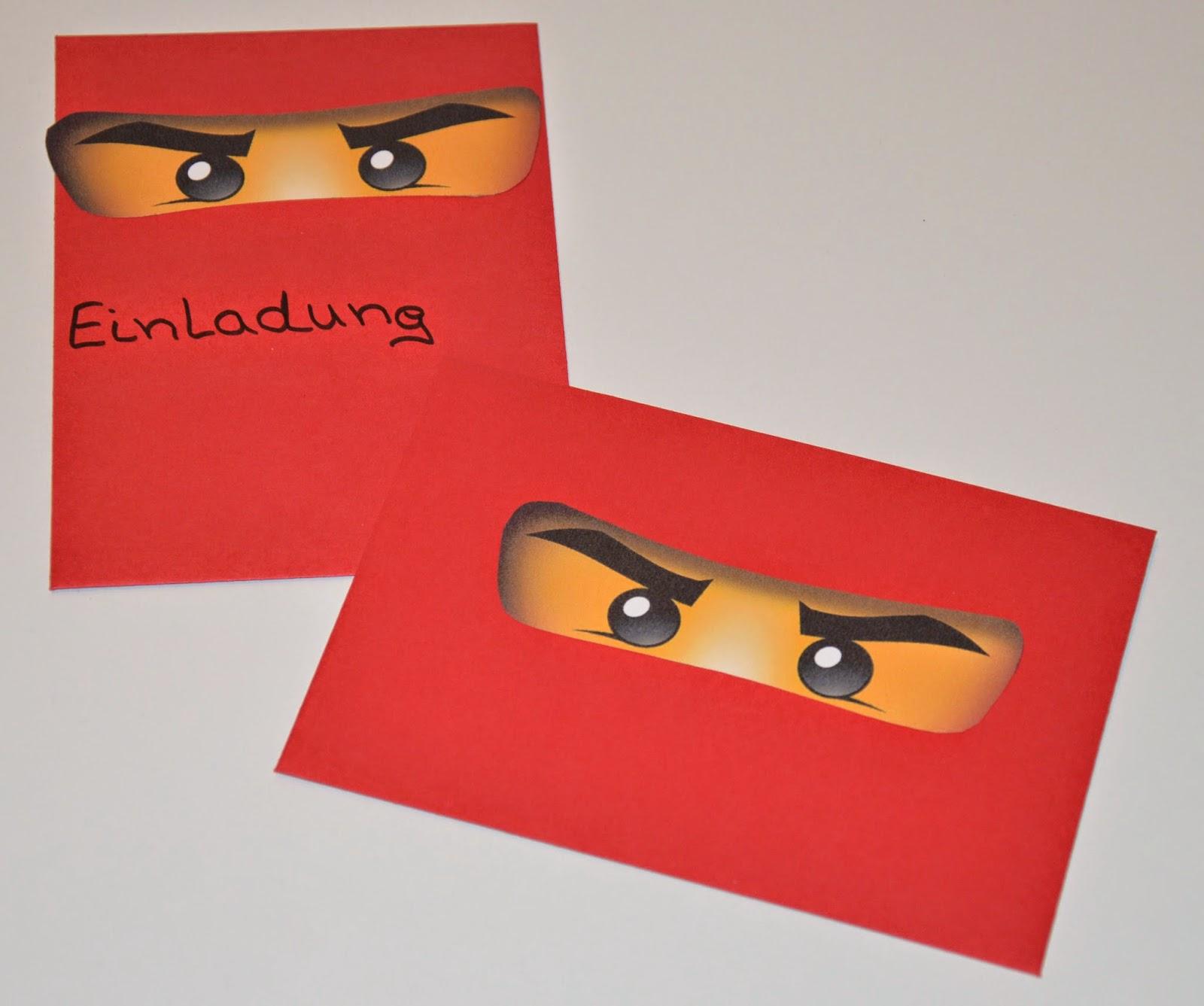 lego ninjago einladungskarten – kathyprice, Einladungsentwurf