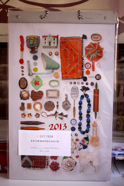 Anthropologie calendar at the Mighty Happy book launch for Gretchen Rubin's new book Happier at Home