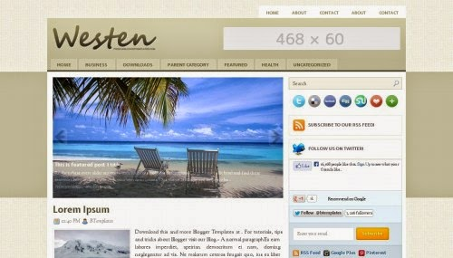Download Free Blogger Template