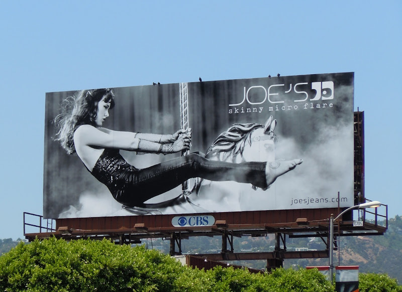 Joe's Jeans Merry go round billboard