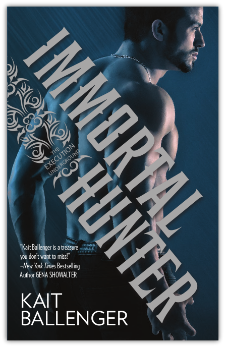 Cover Reveal: Immortal Hunter by Kait Ballenger + Giveaway