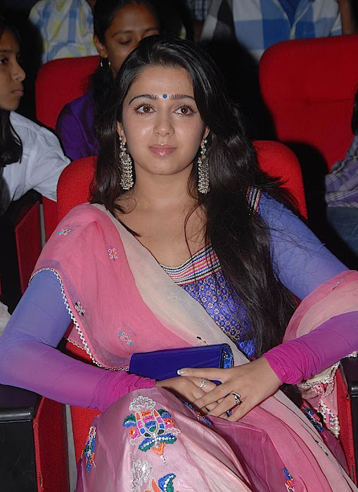 charmi at businessman audio launch, charmi new cute stills