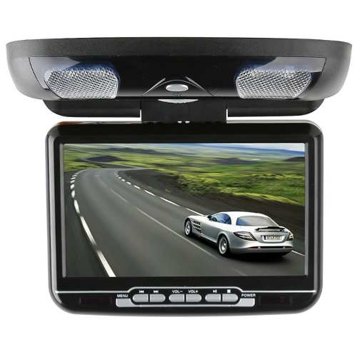 Tela Teto Monitor 9´ Lcd C/ Dvd Player Sd/card, Usb Port - R$ 480,00