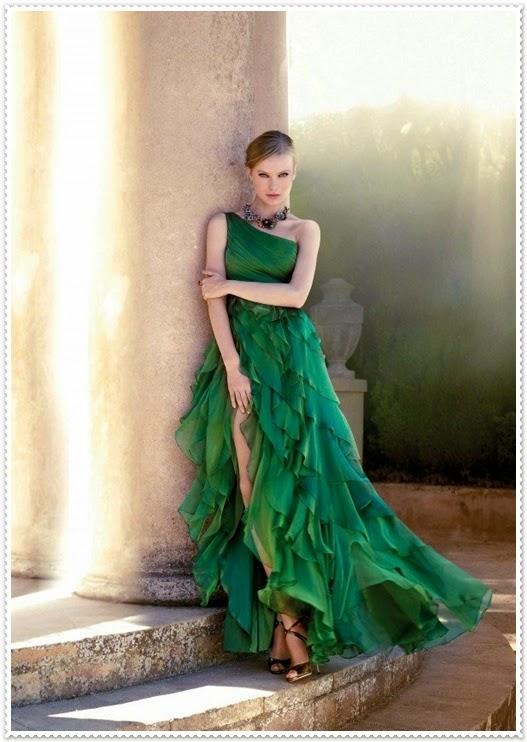 Elegante Abendkleider 2015