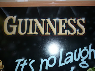traditional signage dobell designs guiness beer stout