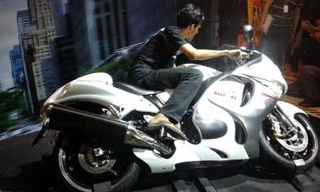 gambar Suzuki Hayabusa