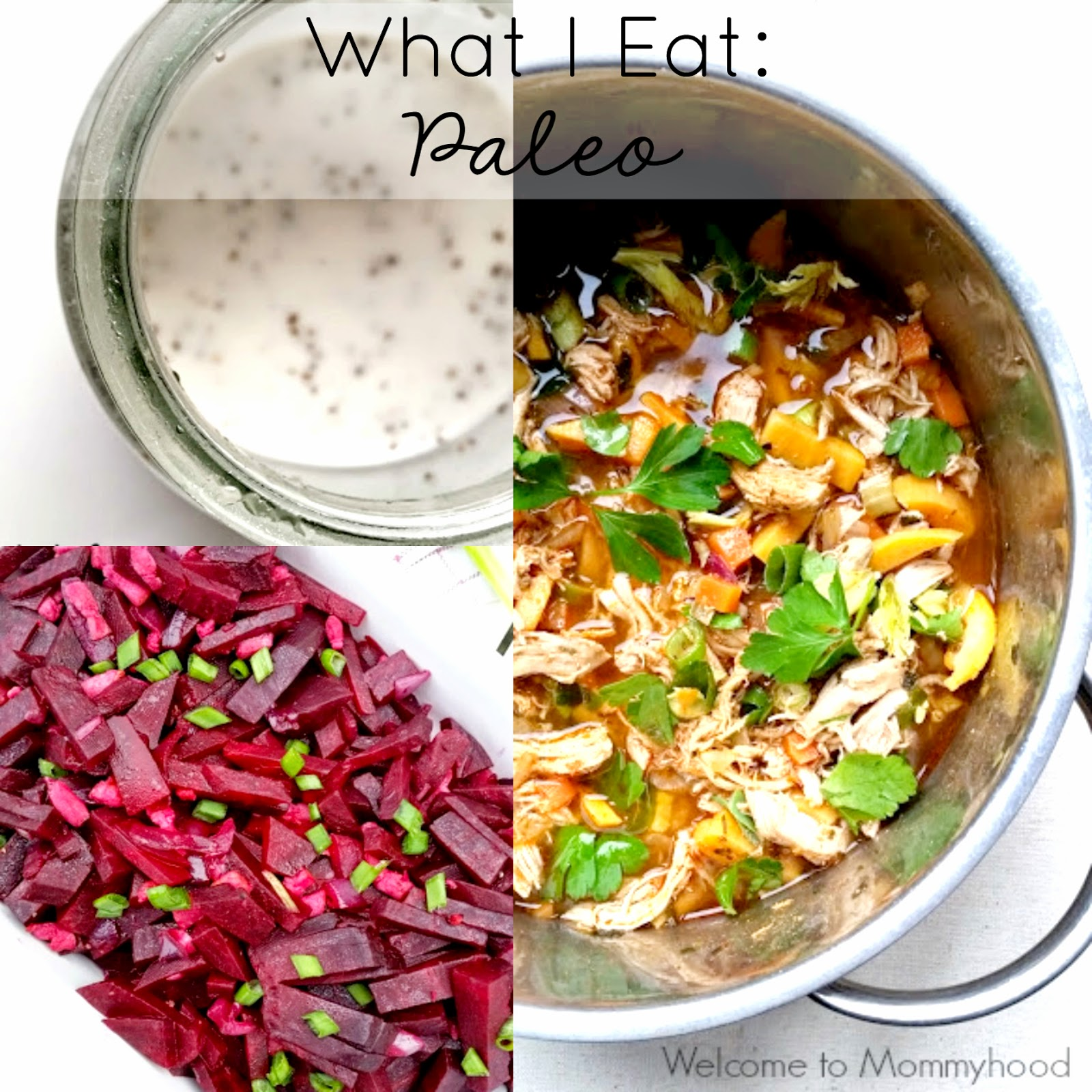 Day of Paleo Meals {Welcome to Mommyhood} #paleo, #WIAW