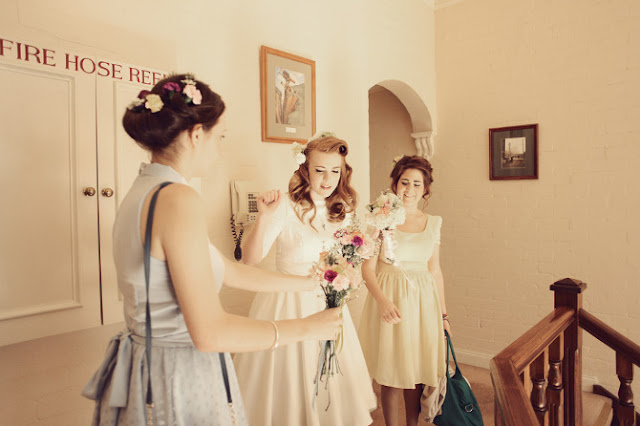 melbourne retro vintage 50's bridesmaids dresses