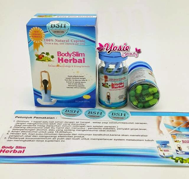 Body Slim Herbal Pelangsing Tubuh Alami dan Aman