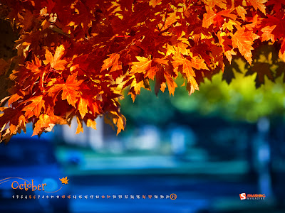 Smshing Magazine - Free desktop wallpaper calendar October 2013
