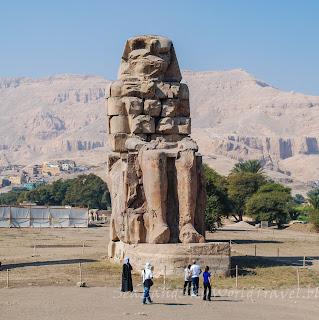 埃及, egypt, 樂蜀, Luxor, 孟農巨像