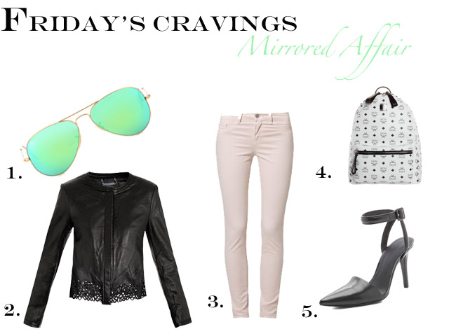 Friday's Cravings: Ray-Ban Mirrored Sunglasses