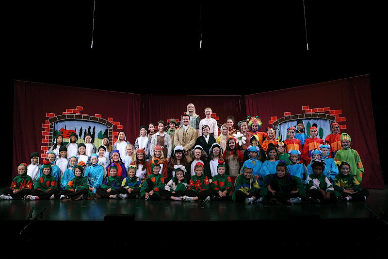 Secret Garden Theater Camp Day 5 Final Education And