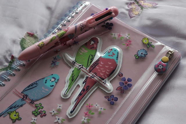 Paperchase parrot stationery