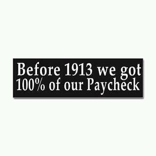 before 1913 we kept money