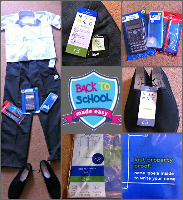 Morrisons Nutmeg School Uniform