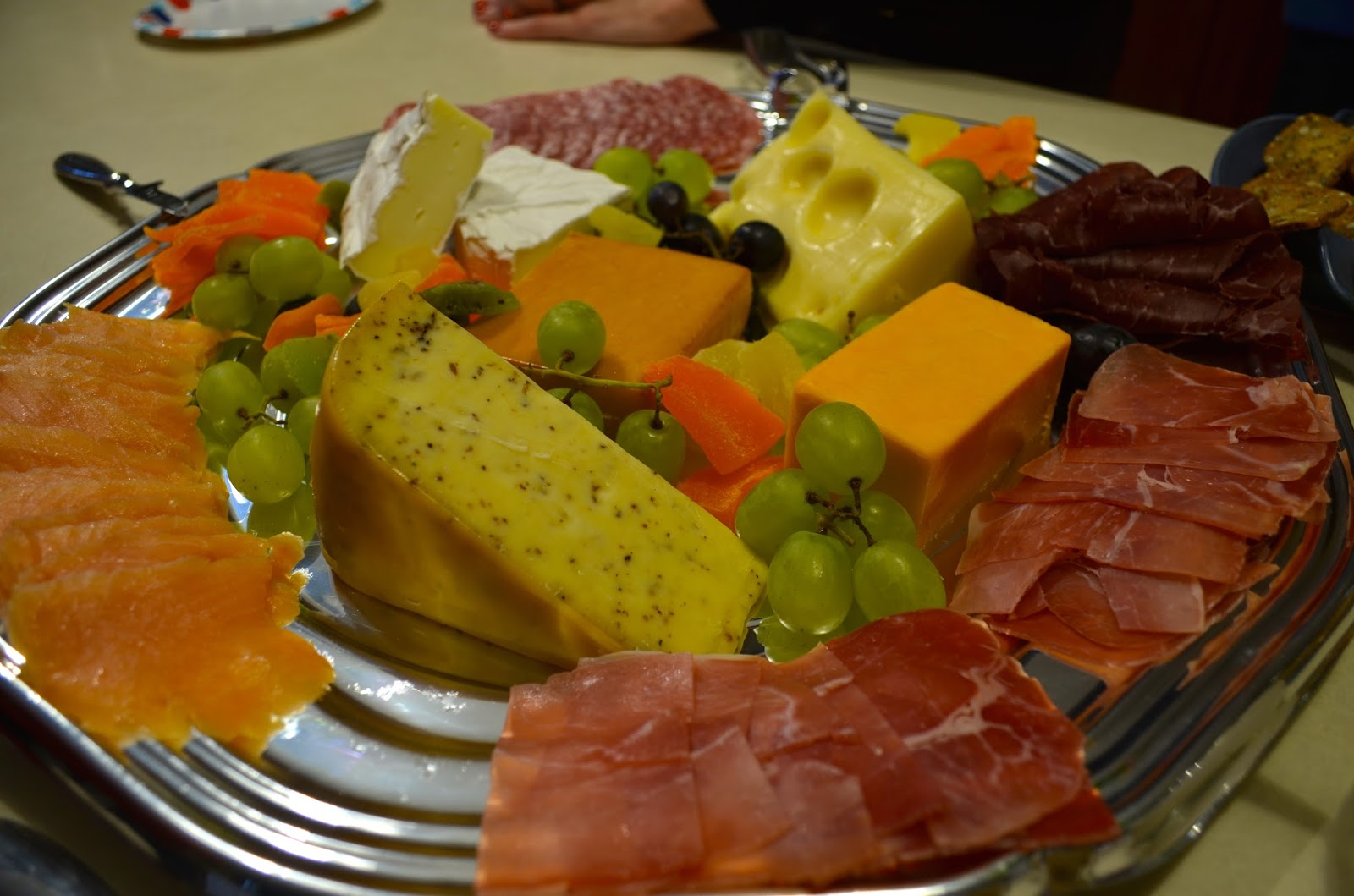 Cheese Plate Wine Tasting