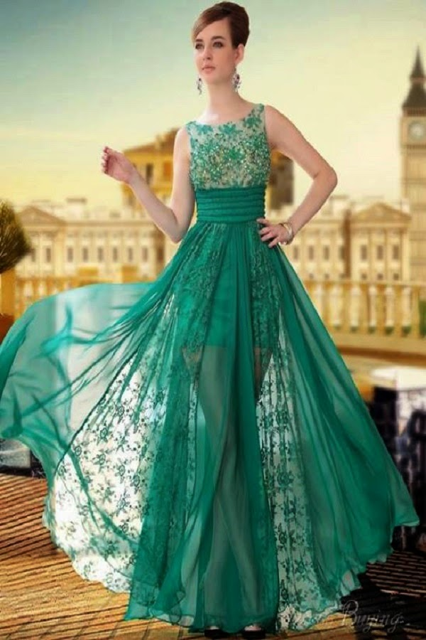 Latest Party wear dress designs for girls 2015 ~ Pak Fashion