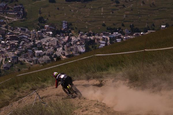 2015 Crankworx Les 2 Alps Downhill Highlights Sam Blenkinsop