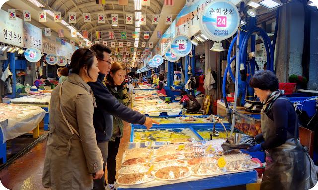 Jeju Dongmun Market