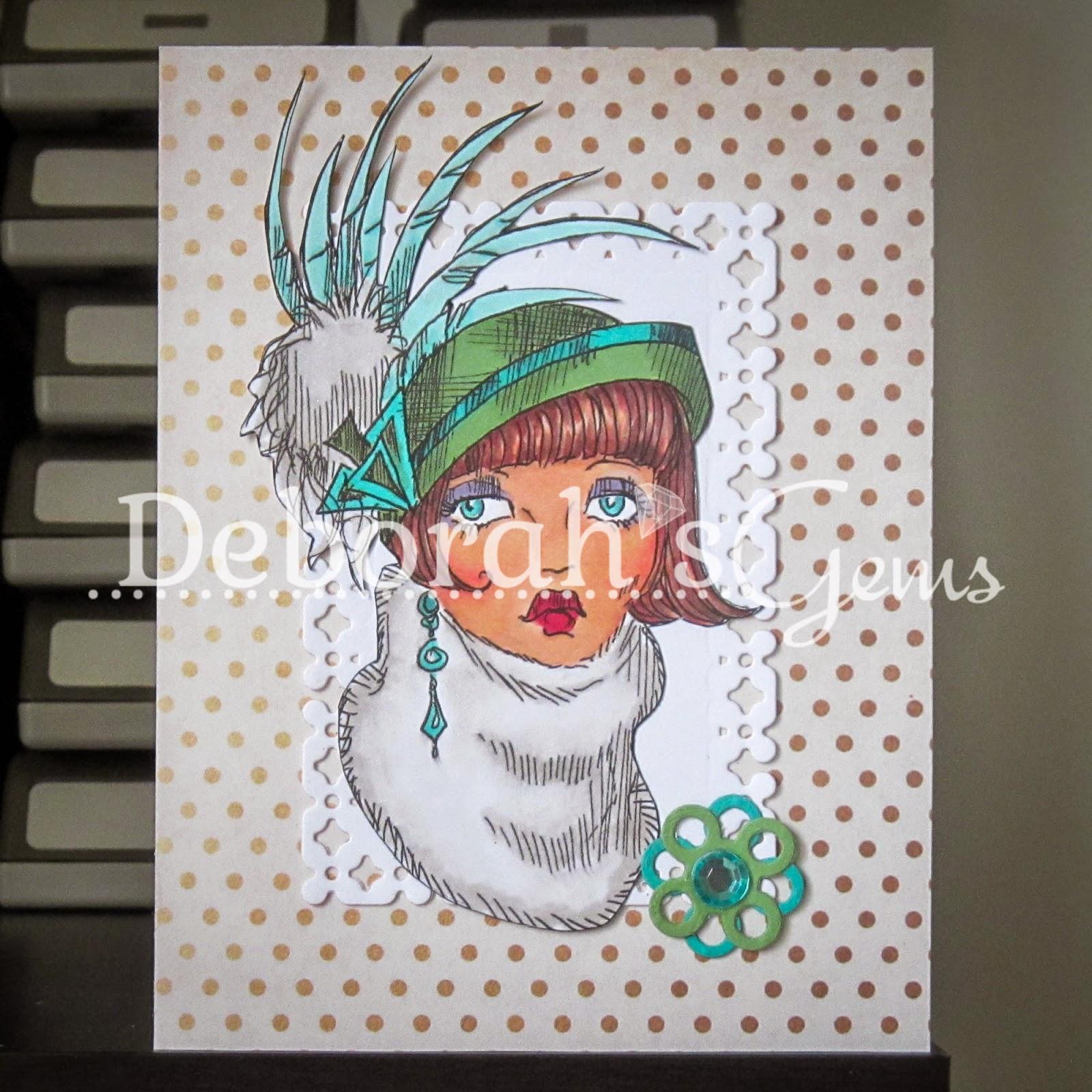 Billie Hat Lady sq - photo by Deborah Frings - Deborah's Gems