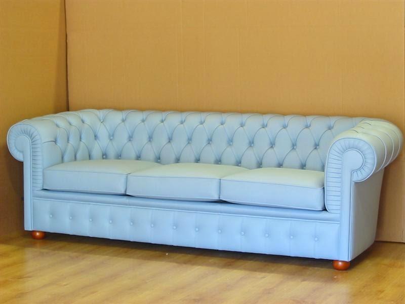 Vama divani blog originali creazioni personalizzate divani chesterfield in azzurro blu e denim - Divani ikea pelle ...