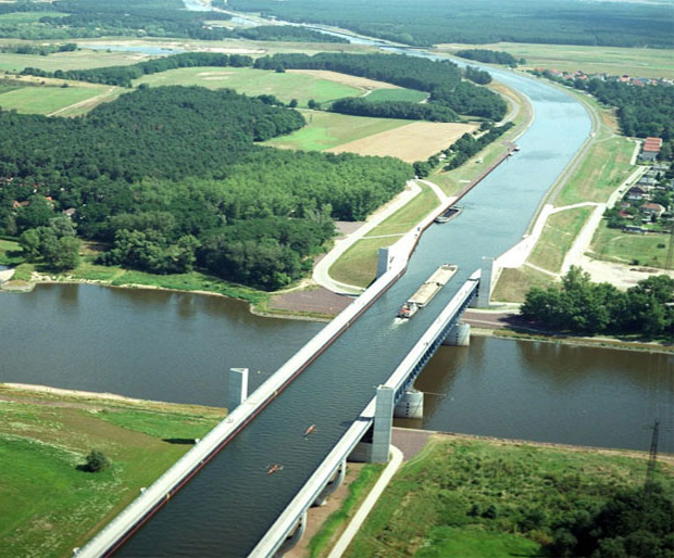 Magdeburg Germany  city photo : 06. Magdeburg Water Bridge, Magdeburg, Germany