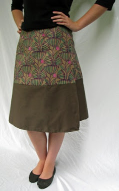 wrap skirt - wattle