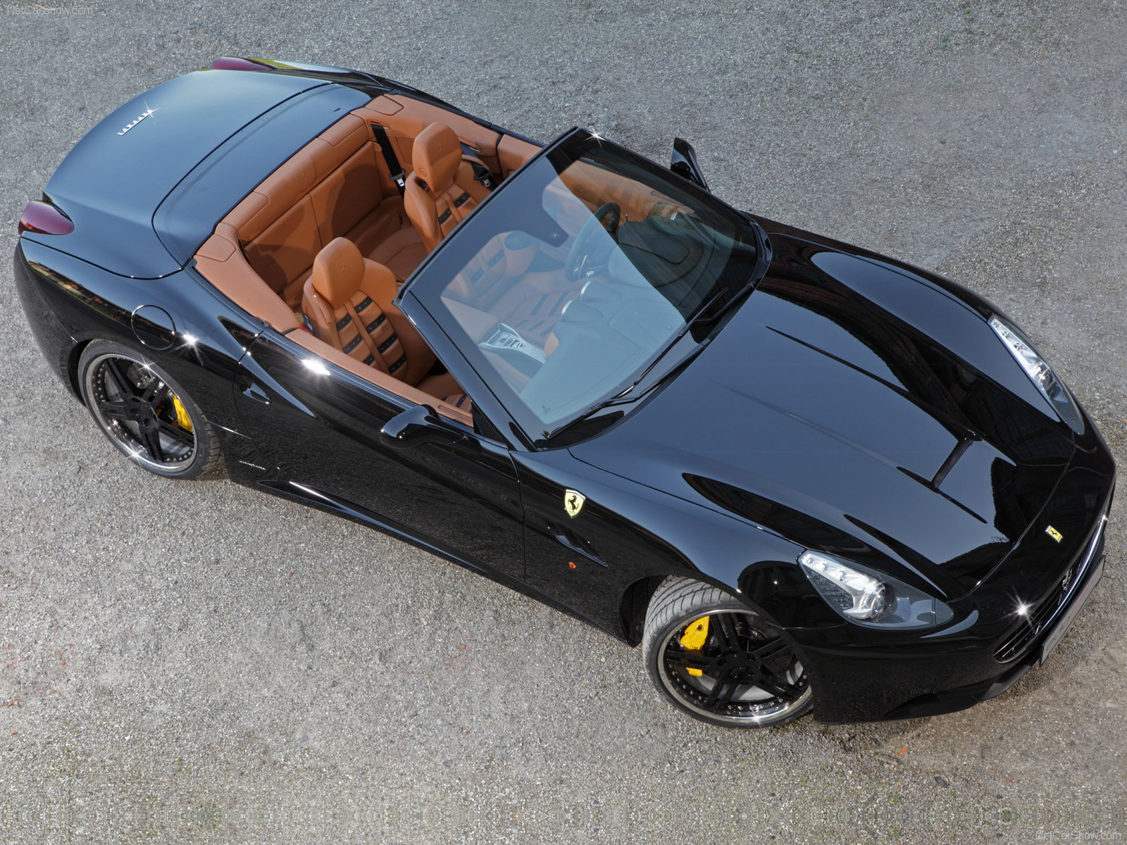 Hình ảnh siêu xe Edo Ferrari California 2009 & nội ngoại thất