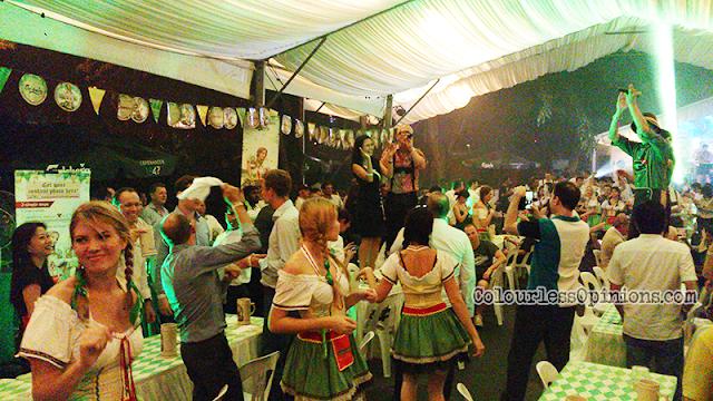 Oktoberfest 2014 Malaysia Carlsberg Saujana party