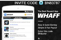 WHAFF Rewards & 8Share: 2 Cara Asyik Dapatkan Uang Dollar Dengan Smartphone (Android & iOS) Kamu