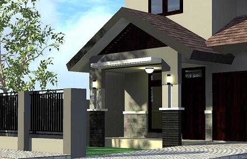 panduan bangunan rumah: model teras rumah minimalis