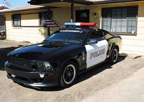 american police cars