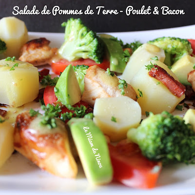 Illustration Salade de Pommes de Terre - Poulet & Bacon